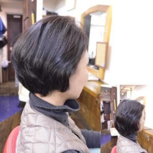 くせ毛を生かす髪型-ショート
