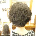 脱縮毛矯正でくせ毛を生かした髪型