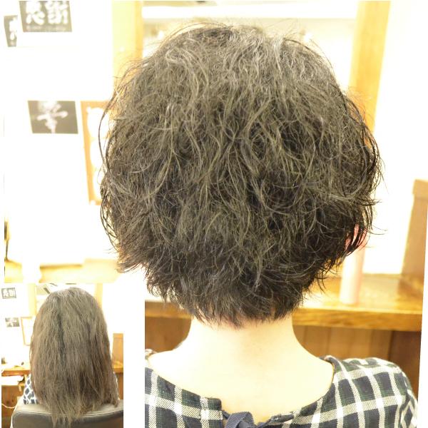 くせ毛を生かす髪型