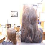縮毛矯正の期間が1年空いても…リタッチで綺麗な艶髪に