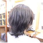 くせ毛を生かした髪型-パーマ