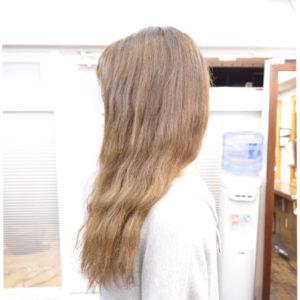 脱縮毛矯正&くせ毛を生かした髪型-ボブ