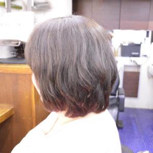 くせ毛を生かした髪型-ショートボブ3