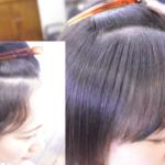 縮毛矯正で自然な前髪を作るメソッド