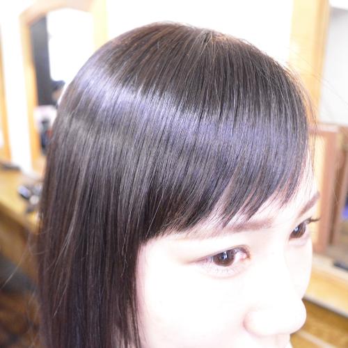 縮毛矯正前髪画像集