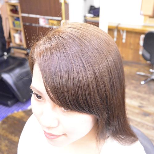 縮毛矯正の前髪を自然に仕上げる秘訣