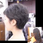 【脱縮毛矯正の手引き】縮毛矯正をやめてショートスタイルの髪型にしたい方へ