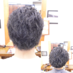 くせ毛を生かした髪型-メンズ