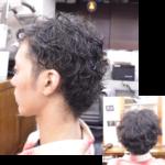 くせ毛を生かした髪型-メンズ 2