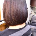 縮毛矯正 ボブ | くせでぼさぼさの髪も縮毛矯正で綺麗な内巻きボブに