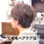 くせ毛のヘアケア